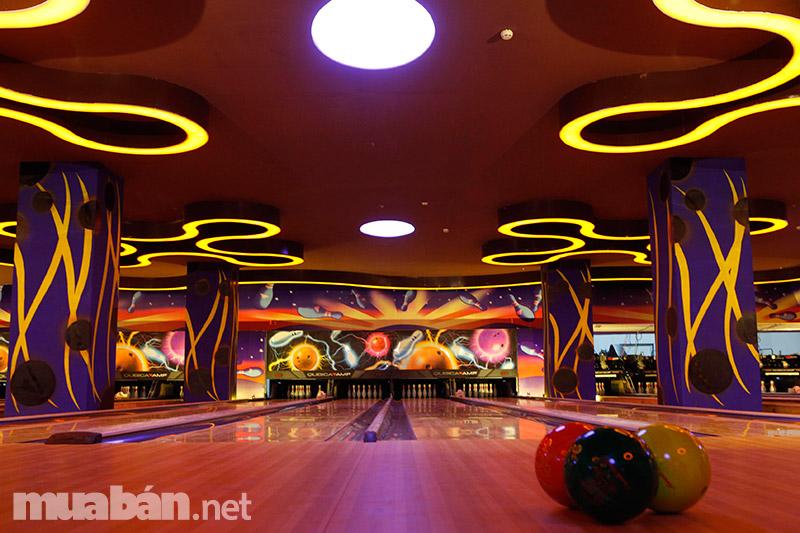 Bowling tại Vincom Thủ Đức