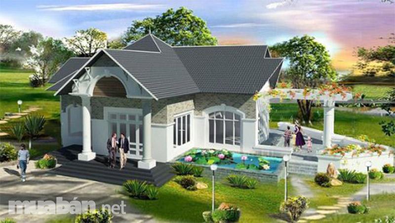 Mẫu nhà đẹp theo phong cách biệt thự cho bạn và gia đình