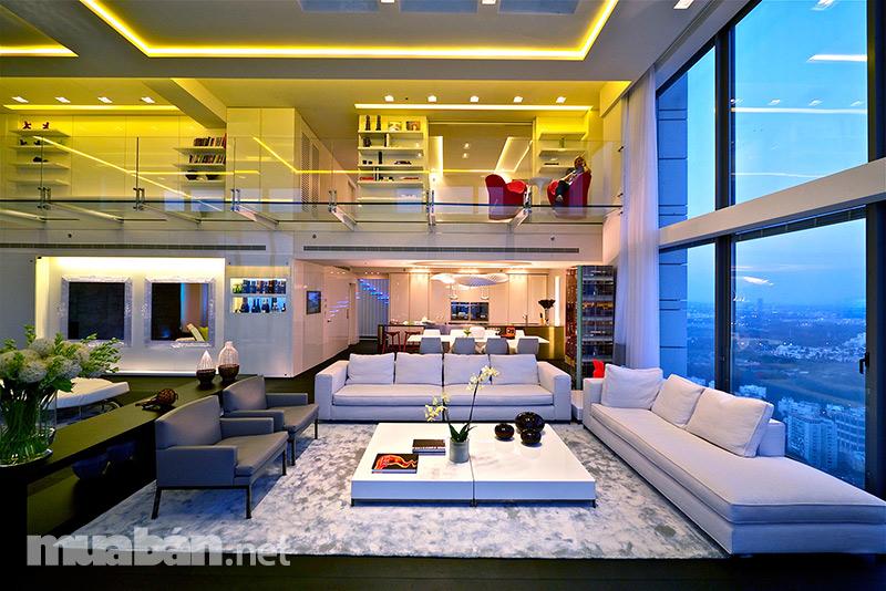 Penthouse, căn hộ sang trọng tiện nghi bậc nhất dành cho bạn