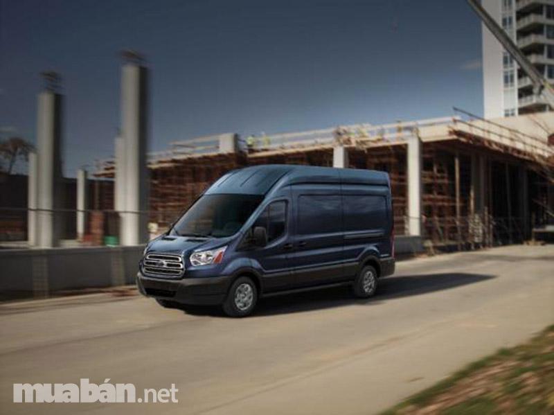 Ford Transit có thiết kế đẹp và vừa mắt