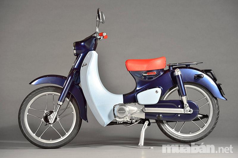 Xe cub phiên bản hiện đại từ Honda