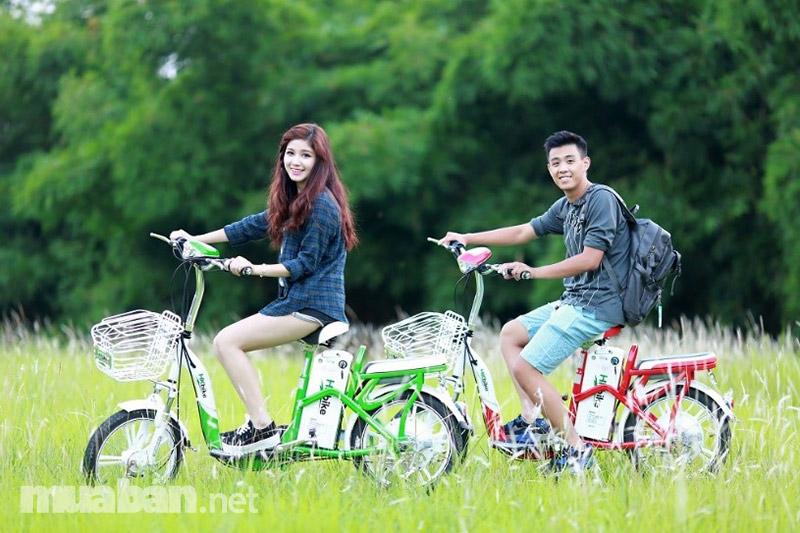 HK Bike khá chịu đầu tư vào hình quảng cáo và khuyến mãi
