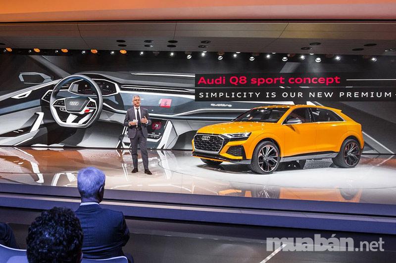 Q8 mẫu SUV Coupe của tương lai