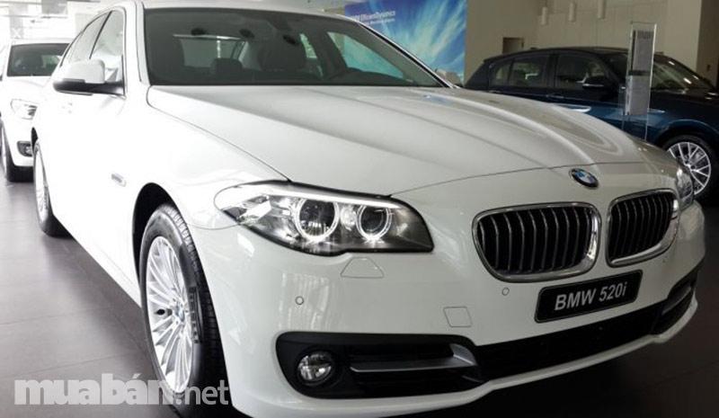 Giá BMW 520i phiên bản 2016?