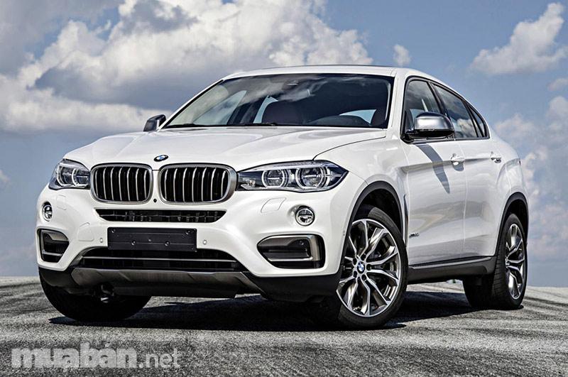 Đường nét thể thao cá tính tên BMW X6