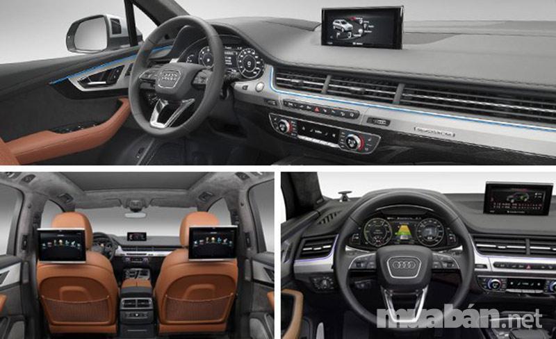 Audi Q7 phiên bản 2017 sang trọng