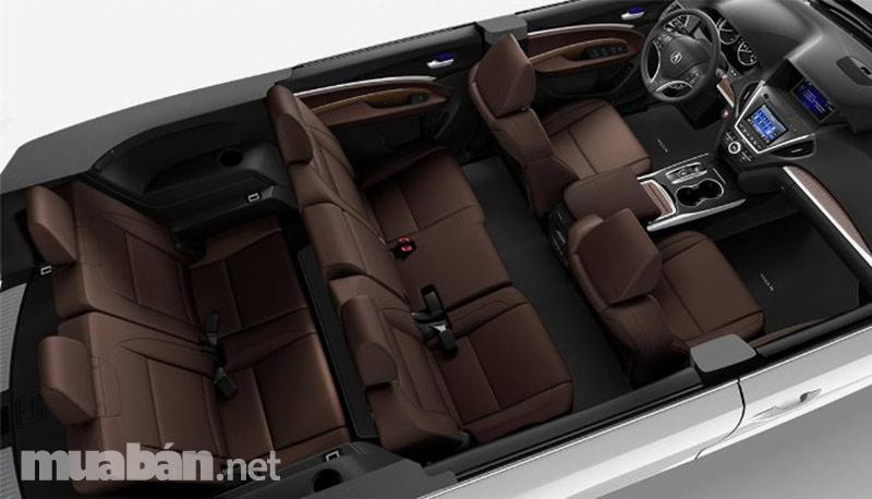 Acura MDX 2017 tiện nghi bậc nhất dành cho bạn