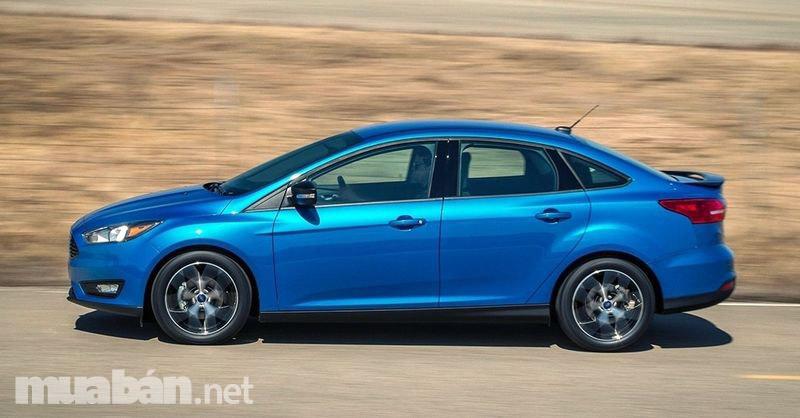 Ford Focus 2017 có thiết kế nhỏ gọn, thể thao và sang trọng