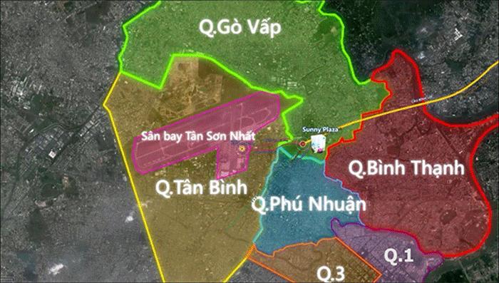 Hình 1. Vị trí toàn quận Gò Vấp
