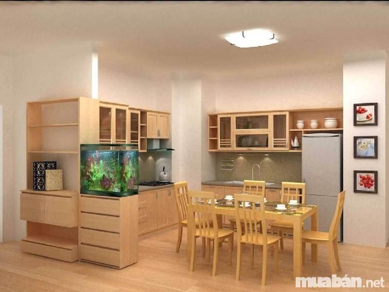 Đồ nội thất bằng gỗ thể hiện sự tinh tế trong cách bày trí của gia chủ