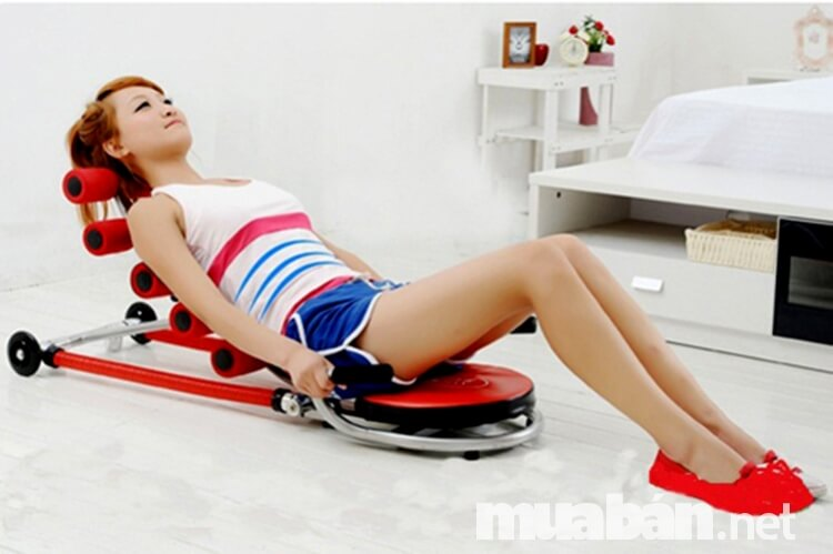 Ghế tập bụng là dụng cụ thể thao hỗ trợ cơ bụng hiệu quả nhất
