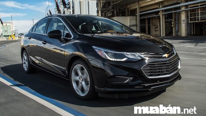 Xe Chevrolet Cruze 2017 sở hữu vẻ ngoài lịch lãm, sang trọng đậm chất Mỹ