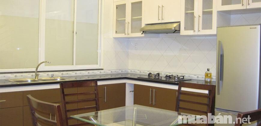 Không gian bếp chung