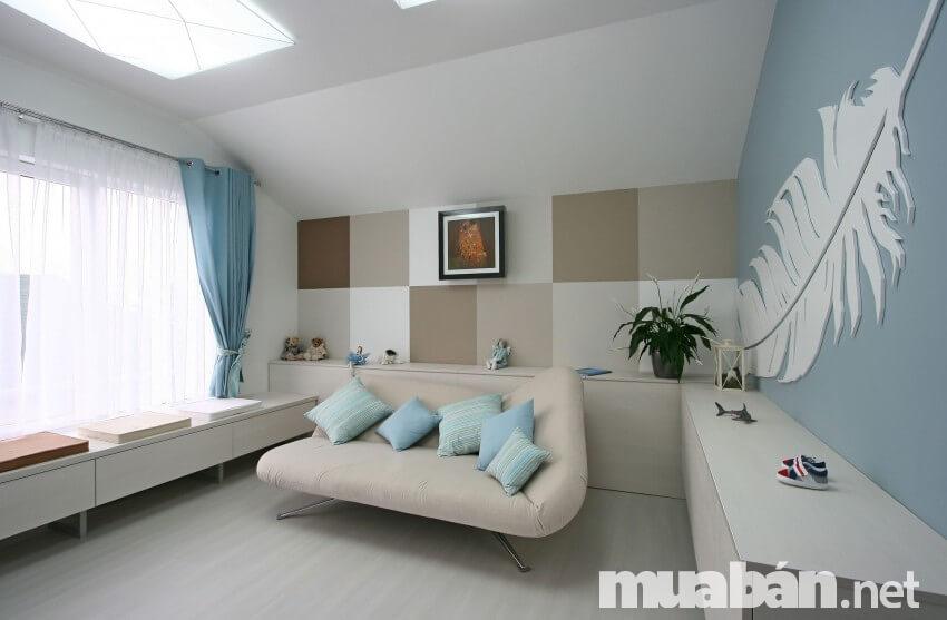 Lựa chọn nội thất phòng khách nhỏ gọn, đa chức năng để tiết kiệm không gian