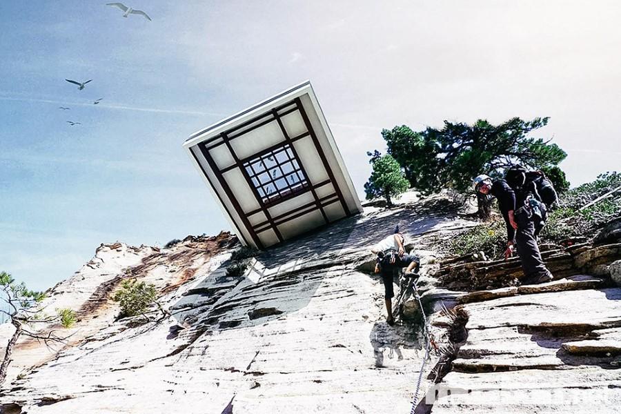 Những ngôi nhà trên núi đậm chất sáng tạo