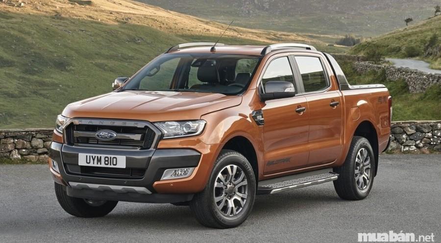 """Ford Ranger được mệnh danh là """"ông trùm"""" của dòng xe bán tải cỡ trung"""