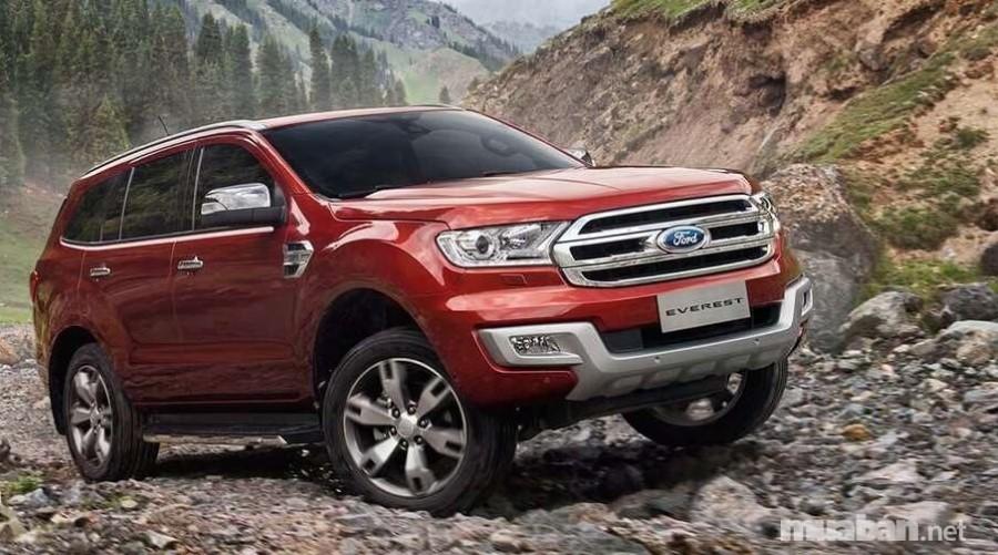 Ford Everest là một trong những dòng xe Ford có giá bán cao nhất tại Việt Nam