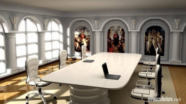 Thuê biệt thự kết hợp làm nơi ở và văn phòng thường có chi phí cao và không gian làm việc hơi hạn chế