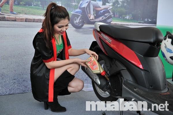 Bảo dưỡng xe thường xuyên để xe hoạt động tốt