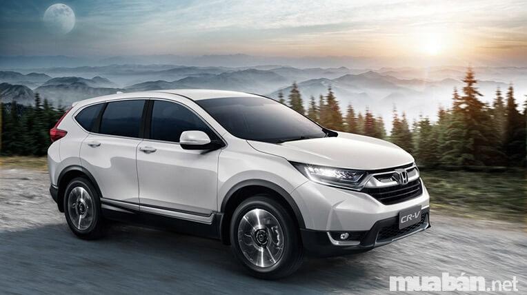 Honda CRV phù hợp với những quý ông lịch lãm hoặc những nữ doanh nhân thành đạt