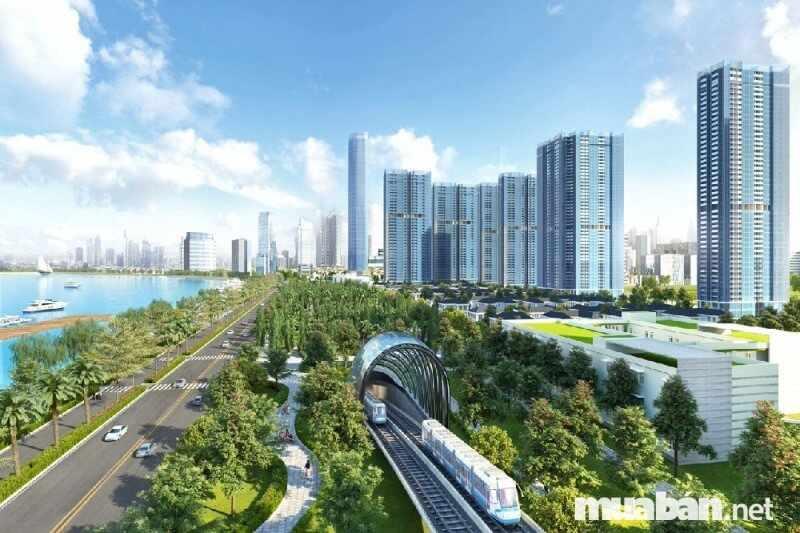 Phối cảnh dự án căn hộ Vincity của tập đoàn Vingroup