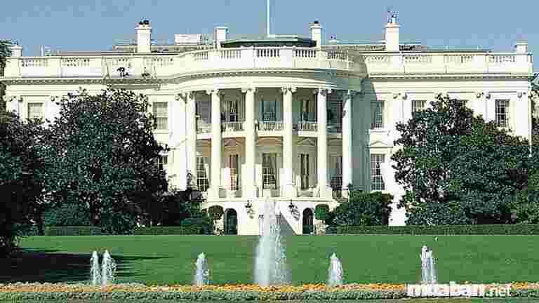 Nhà Trắng là một trong những địa điểm nhất định phải ghé thăm khi tới Mỹ