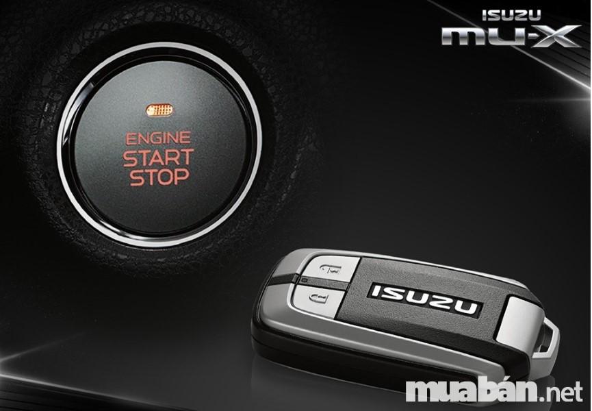 nút start/ stop Isuzu MU-X