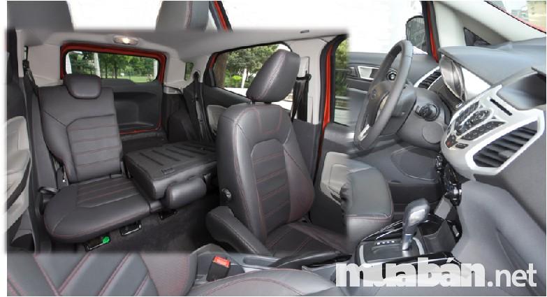 Xe được thiết kế 5 chỗ ngồi nhưng không gian luôn thoáng mát, tiện dụng