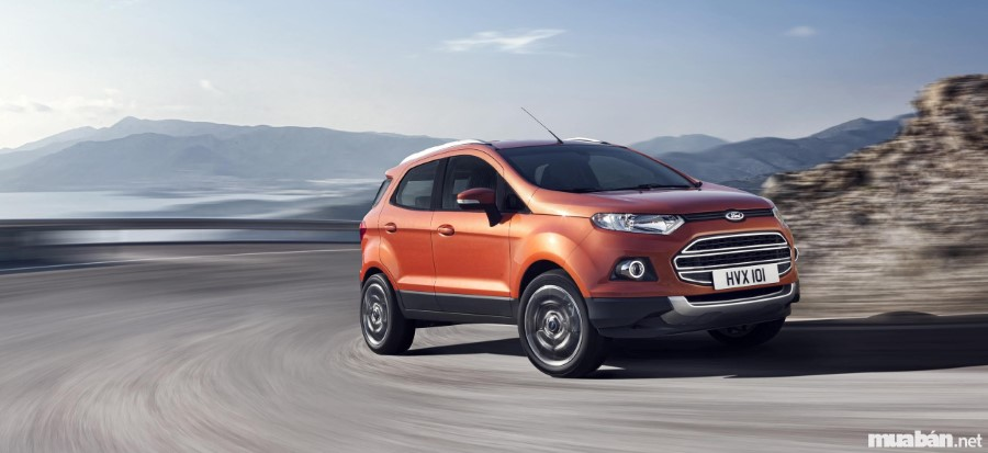 Ford Ecosport chấp mọi nẻo đường