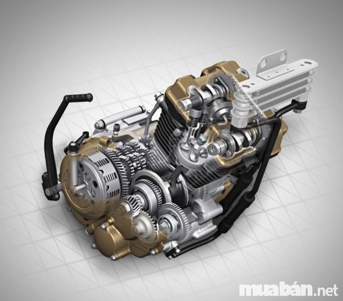 Động cơ xe zuki Raider Fi R150 2017