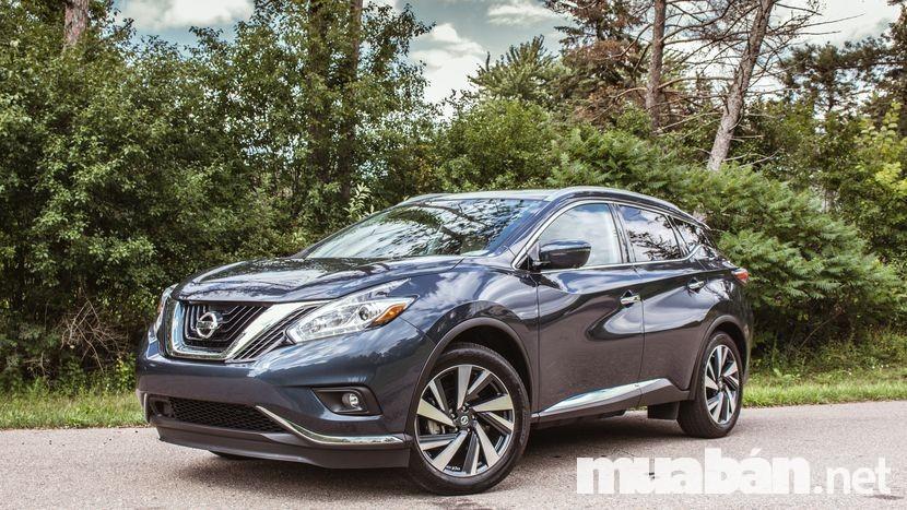 Nissan Murano 3.5 lít CVT là sự kết hợp đầy mới lạ và vô cùng hài hòa