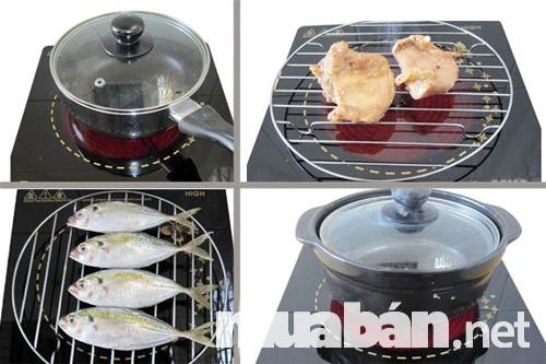 Có thể để đồ ăn lên mặt bếp nấu nướng trực tiếp