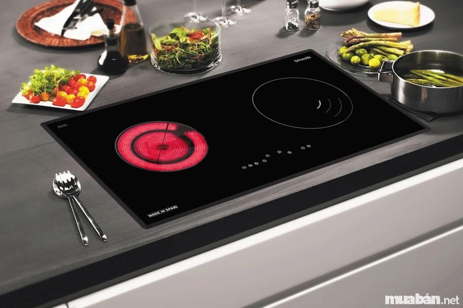 Bếp điện từ kết hợp nhiều công dụng
