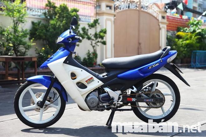 Đông cơ mạnh mẽ, tốc độ nhanh và chân thực của xe Suzuki fx 125