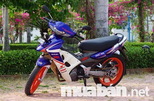 Thiết kế thể thao, hiện đại của xe Suzuki fx 125