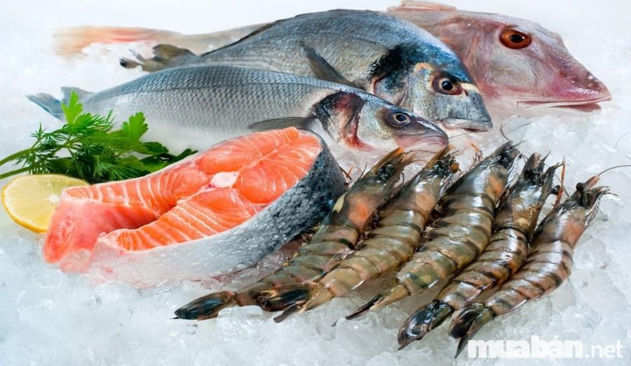 Đa dạng, phong phú nhiều sự lựa chọn khi chọn mua hải sản
