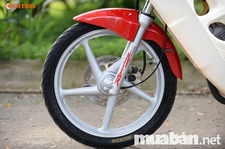Mâm đúc cứng cáp, độ bền cao xe Suzuki fx 125