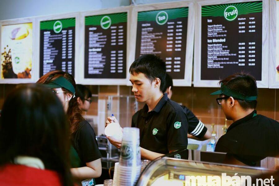 Phục vụ rất quan trọng khi kinh doanh cafe sạch