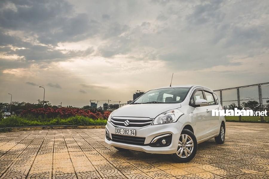 Đánh giá xe ô tô Suziki 7 chỗ Ertiga 2017 hot nhất hiện nay
