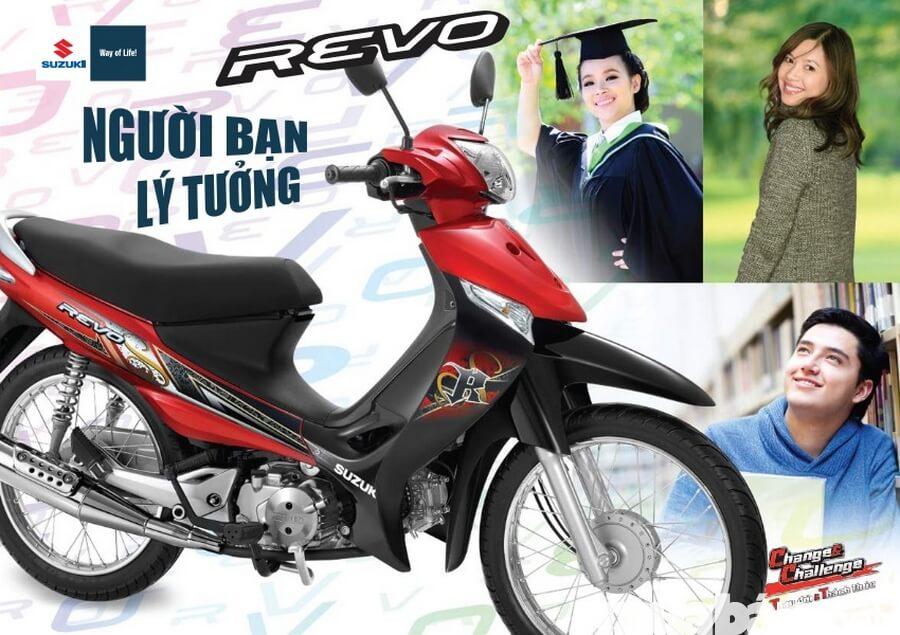 Suzuki Revo người bạn lý tưởng