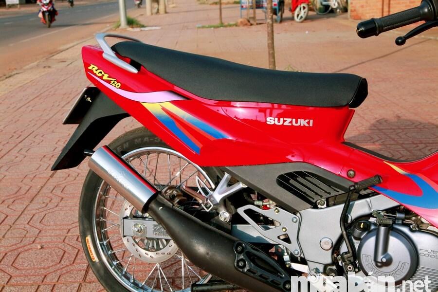 Suzuki Xipo (Suzuki Sport) từng là biểu tượng của các tay chơi xe một thời