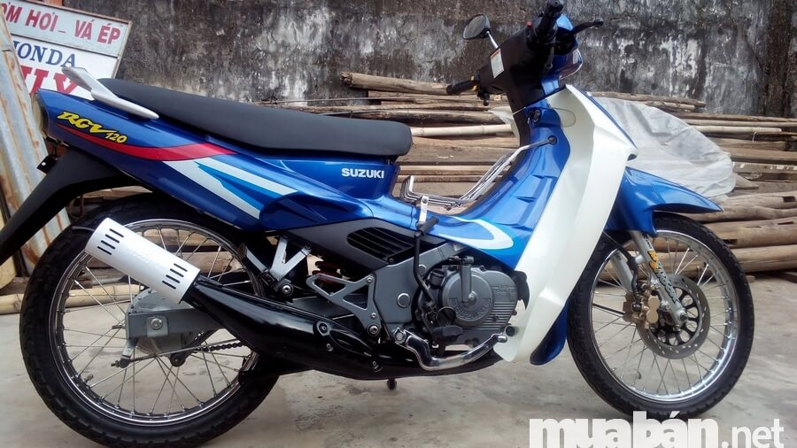 Suzuki Xipo là mẫu xe côn tay underbone với động cơ 120 phân khối