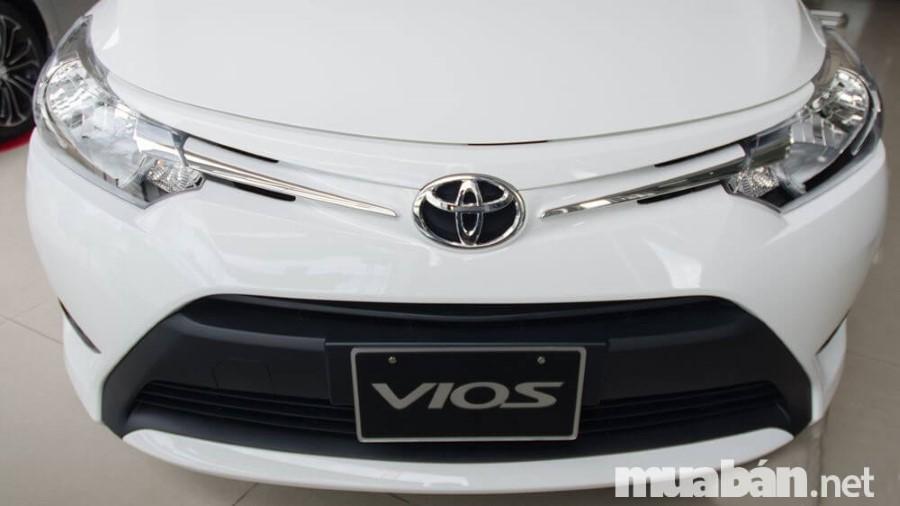 Nhìn chung, thiết kế ngoài của Vios 2017 không quá khác biệt so với phiên bản cũ