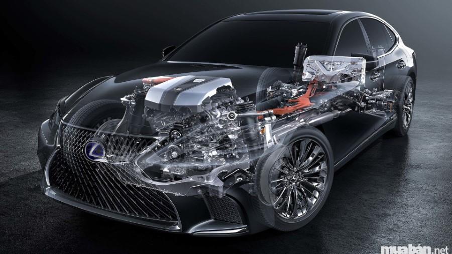 Multi Stage Hybrid System làm nên đẳng cấp xe ô tô Lexus