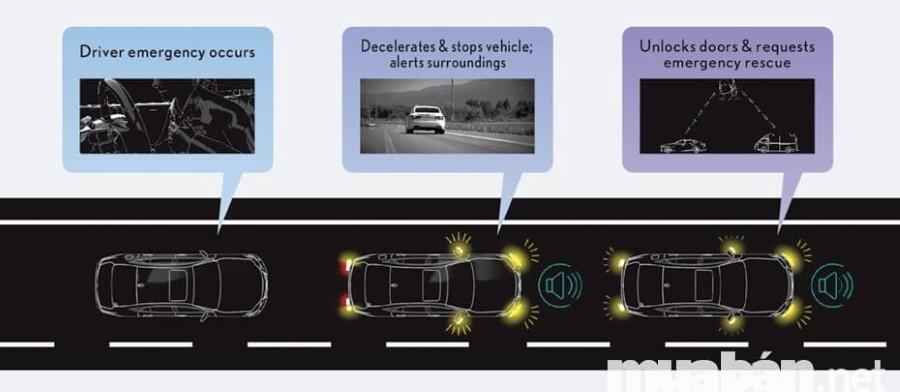 Xe o to Lexus được trang bị hệ thống an toàn tân tiến mới