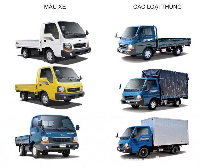 xe tải Thaco là một trong những dòng xe tải nhẹ được ưa chuộng