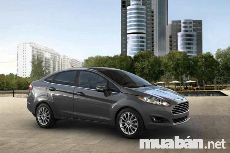 Ford Fiesta Sedan 2017 nâng cấp để làm hài lòng khách hàng hơn