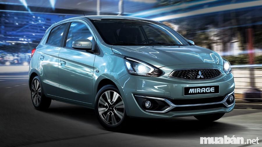 Mitsubishi Mirage Có Ngoại Thất Năng Động, Trẻ Trung Và Khỏe Khoắn