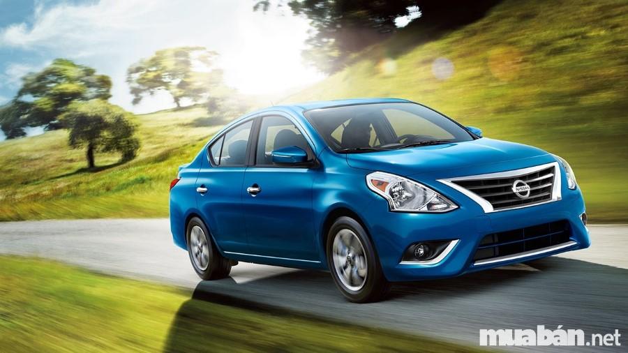 Ngoại Thất Nissan Versa Không Có Nhiều Thay Đổi