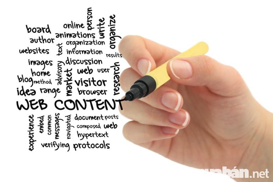 Viết nội dung web dành cho những bạn có khả năng tốt về giọng văn